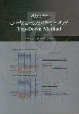 متدولوژی اجرای سازههای زیرزمین بر اساس Top-Down method